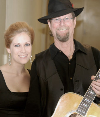Candice Jarrett and Roger McGuinn of The Byrds
