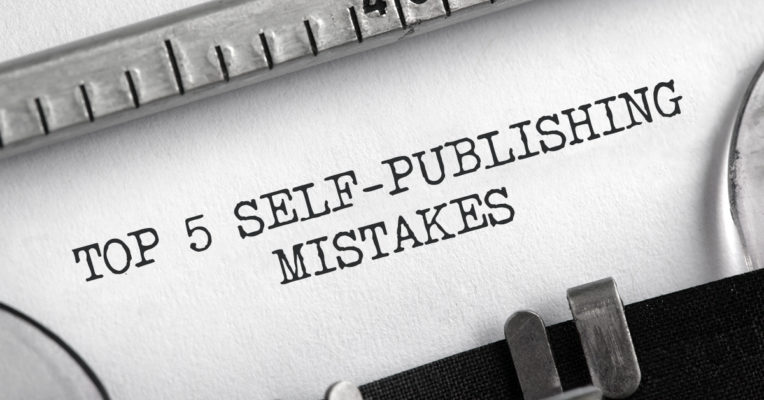 top 5 self-publishing mistakes in 2021