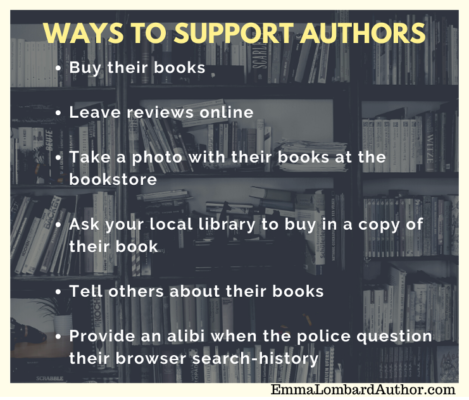 Ways to Support Authors