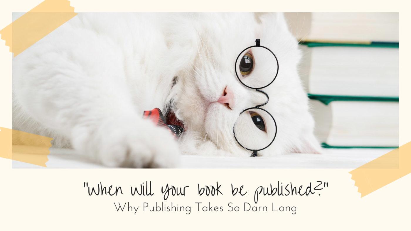 Why Publishing Books Takes So Long